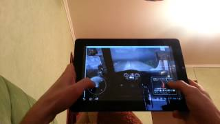 getlinkyoutube.com-GAME RUNS ON PC AND STREAMED TO TABLET. Euro truck simulator 2 на ASUS Transformer Prime 201