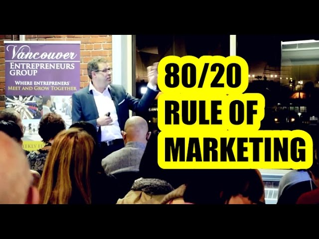 80/20 Rule of Marketing: How To Use It To Dramatically Grow Your Business