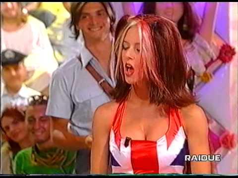 Sabina e Caterina Guzzanti -  La posta del cuore 1998 -  Spice Girls