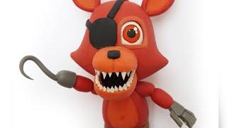 """getlinkyoutube.com-FOXY FNAF WORLD """"TUTORIAL""""  ✔PORCELANA FRIA ✔POLYMER CLAY ✔PLASTILINA"""