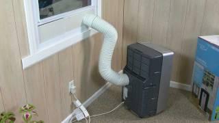 getlinkyoutube.com-Haier Portable Air Conditioner Installation Video
