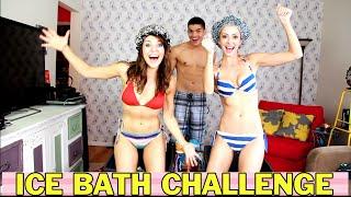 getlinkyoutube.com-ICE BATH CHALLENGE!