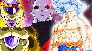 Dragon Ball Super Episode 129-131: MASTERED ULTRA INSTINCT GOKU & FRIEZA DEFEAT JIREN DBS 129-131