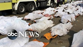 getlinkyoutube.com-Hundreds Killed in Tragic Hajj Stampede Near Mecca