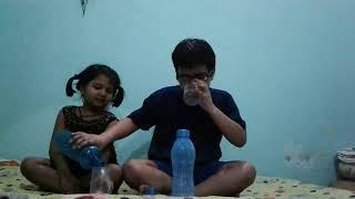 Celebrating 50 videos  done drinking  water  challenge