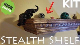 Stealth Shelf Kit - Build your own Concealment Shelf - EASY!