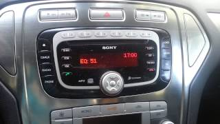 getlinkyoutube.com-Ford sony radio