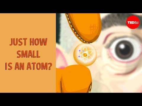 Just how small is an atom? - Jonathan Bergmann