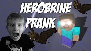 getlinkyoutube.com-Minecraft TROLLING my 7 year old brother! HEROBRINE is REAL!