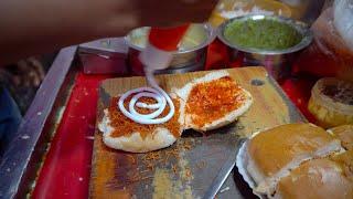 getlinkyoutube.com-Street Food Scene Pune, India | Indian Street Foods