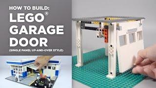 getlinkyoutube.com-LEGO Garage Door Tutorial [How-To]