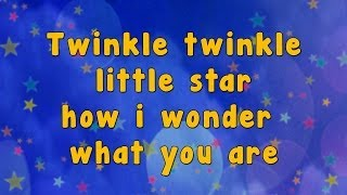 getlinkyoutube.com-Karaoke - Karaoke - Twinkle Twinkle Little Star
