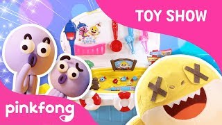 Pinkfong Baby Shark Fishing Play | Toy Review | Toy Show | Pinkfong Songs for Children width=