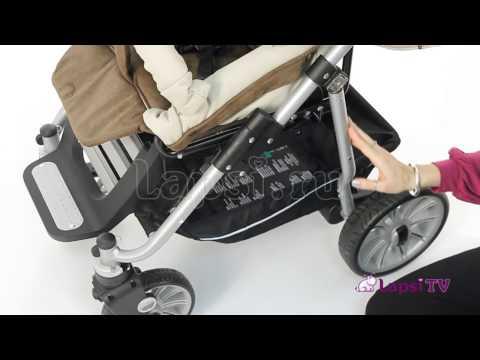 Прогулочная коляска Teutonia Fun System Кожаный дизайн