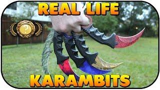 getlinkyoutube.com-Real Life CSGO Karambits UNBOXING!