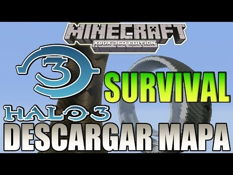 Minecraft Xbox 360 - HALO 3 Survival - Descargar Mapa