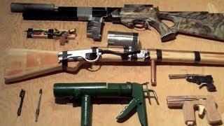 getlinkyoutube.com-Homemade Guns Arsenal
