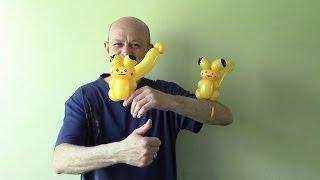 getlinkyoutube.com-One balloon Pikachu. How to make balloon Pikachu