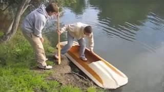 getlinkyoutube.com-The Homemade Folding Kayak