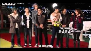 getlinkyoutube.com-Running Man 18 - Ji Hyo and Joong Ki Titanic Scene