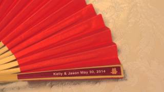 How to Video - Paper Hand Fan Labels