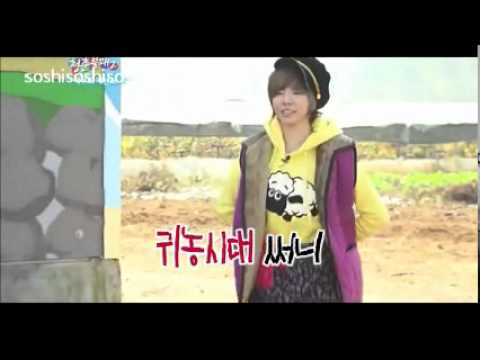 111119 SNSD Hyoyeon Sunny Intro Dance @ Invincible Youth 2 Ep 2 cut