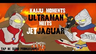 getlinkyoutube.com-Ultraman meets Jet Jaguar   KAIJU MOMENTS # 08