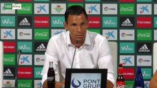 Resumen de las declaraciones de Poyet, Petros y Felipe Gutiérrez tras el Betis-Deportivo