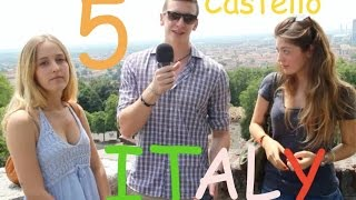 getlinkyoutube.com-Italiano Automatico in strada 5 - Castello di Brescia (Learn Italian with subs ITA/ENG)