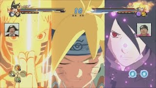 getlinkyoutube.com-Naruto Ultimate Ninja Storm 4 Road to Boruto - Hokage Naruto & Boruto New Moveset Gameplay