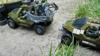 getlinkyoutube.com-The Convoy (Halo Mega Bloks Stopmotion Contest Entry)