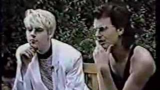 getlinkyoutube.com-Duran Duran - Italy 87 - Interview (PART 2)