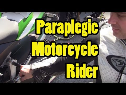 Dred's Garage - Dave Hunt - Paraplegic motorcycle rider