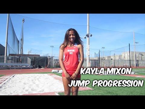 Kayla Mixon Jump Progression