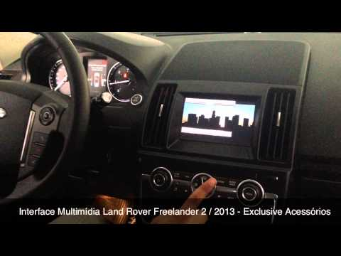 Interface Multimdia Freelander 2 / 2013 c/ integrao total - Exclusive Acessrios - BH - MG
