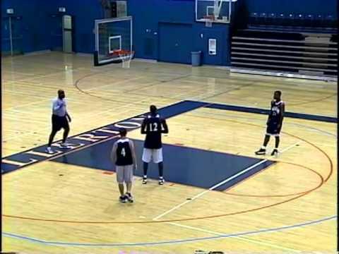 Effective Motion Offense Basketball Drill