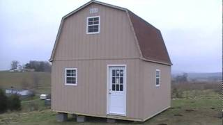 getlinkyoutube.com-2 STORY BARN / CABIN / SHED