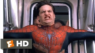 getlinkyoutube.com-Spider-Man 2 - Stopping the Train Scene (7/10) | Movieclips