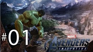 getlinkyoutube.com-Avengers Initiative - Gameplay Playthrough Part 1 | WikiGameGuides