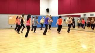 getlinkyoutube.com-Some Girls Will - Line Dance (Dance & Teach in English & 中文)