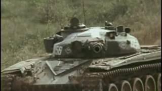 Soviet Army T-72 tanks