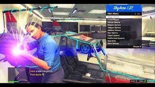 getlinkyoutube.com-GTA 5 Online - CRAZY MOD MENU Gameplay! - SkyAcro v6 - Script Bypass - (Modded Gameplay)