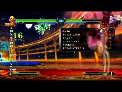 KOF XIII Billy Full Screen Combo BALA