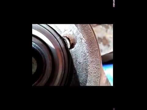 Замена заднего правого продольного рычага 2