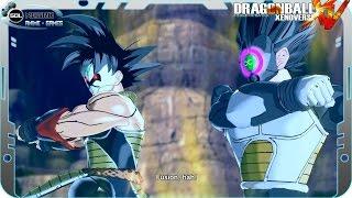 getlinkyoutube.com-Fusion Time Breakers Bardock and Vegeta - The History of Demons Demigra, Mira and Towa - DB Heroes