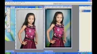 getlinkyoutube.com-Change white background on Photoshop 7.0