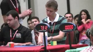 getlinkyoutube.com-Feliks Zemdegs & Mats Valk - FINAL 3x3x3 World Cube Championship 2013