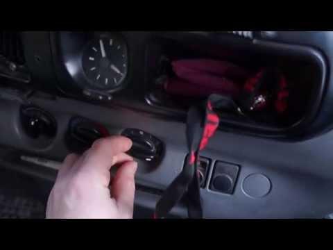 Замена вентилятора печки на Форд Транзит. 1 Часть.