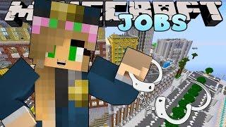 getlinkyoutube.com-Minecraft Jobs - Little Kelly - POLICE ACADEMY!