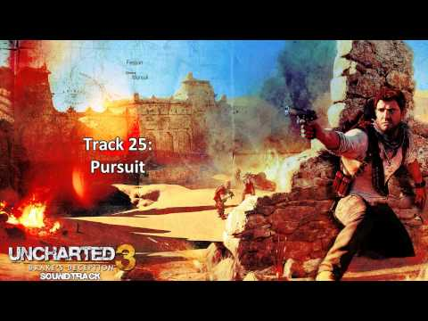 Uncharted 3: Drake's Deception [Soundtrack] - Disc 1 - Track  25 - Pursuit